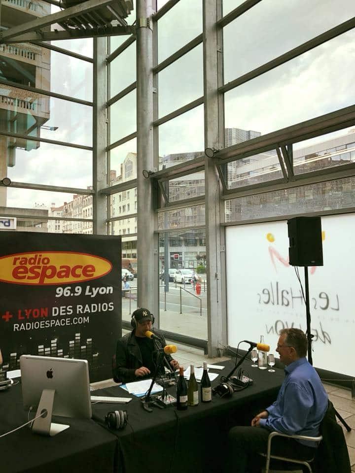 Délocalisation de Radio Espace pour le printemps des Beaujolais
