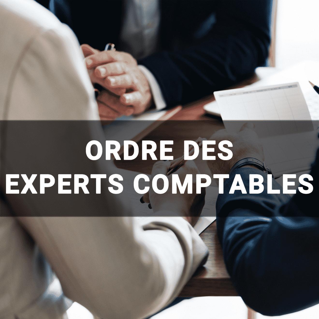 Rendez-vous professionnel - Ordre des expert comptable